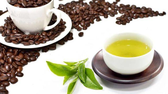 緑茶と珈琲